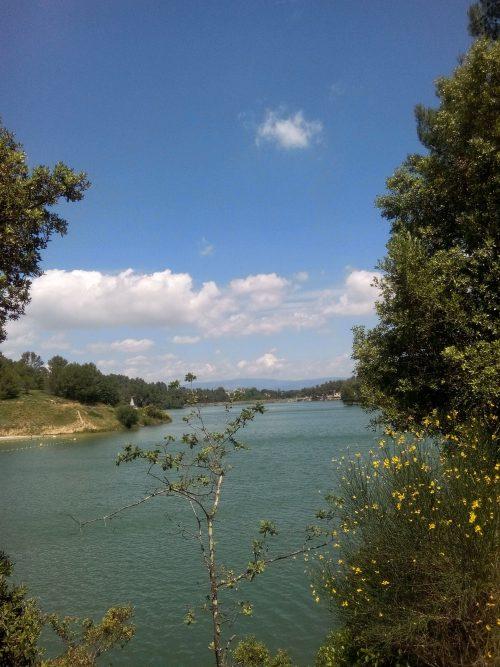 Lac de la Cavayère à Carcassonne.