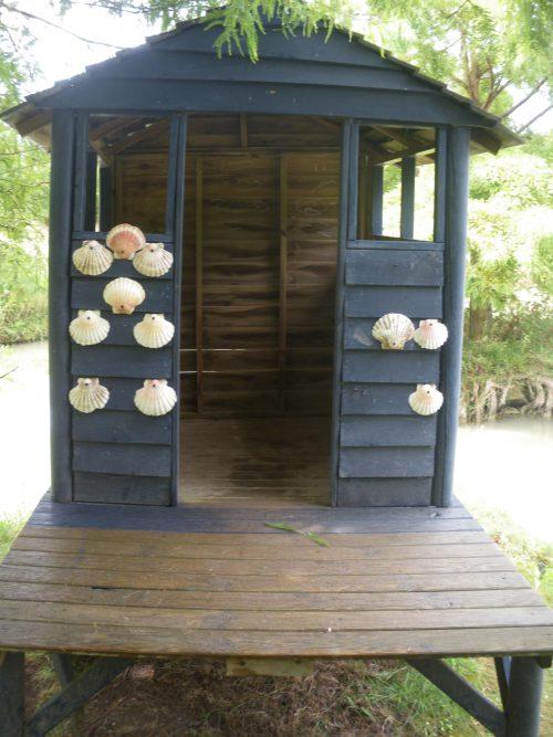 Parc Planet Exotica à Royan. Kids friendly et idéal pour sorties en famille. Cabane de pêcheur