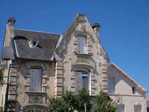 Fouras les bains en Charente Maritime, pour vacances en famille au bord de l'océan. Maison typique